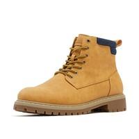 PULL&BEAR 17888312 男士马丁靴
