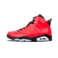 NIKE 耐克 Air Jordan 6 Retro Infrared 23 384664 623 篮球鞋 (黑红、42)