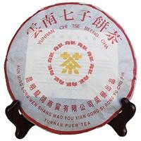 龙问茶叶 普洱茶 黄印 2006年 熟茶 357g