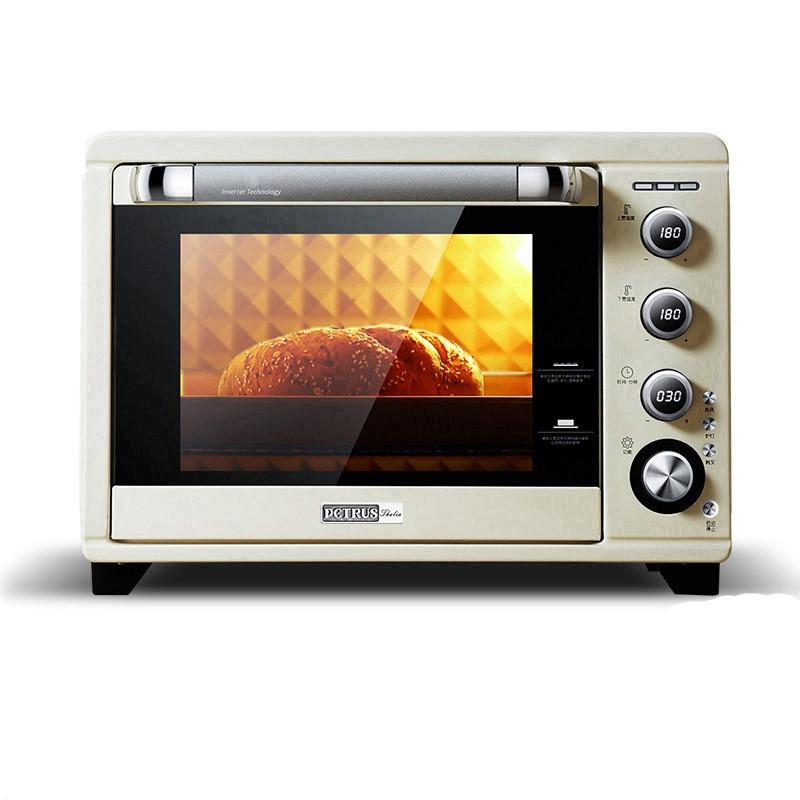 PETRUS 柏翠 PE5400电烤箱家用烘焙多功能全自动大升容量智能迷你小蛋糕