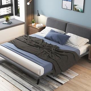 SLEEMON 喜临门 简爱 可拆卸布艺实木框架软床 1.8*2m