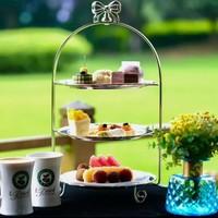 吃货福利 : 西湖畔花园下午茶! 芒果慕斯小猪甜蜜开场!杭州维景国际大酒店双人下午茶套餐