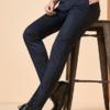 红豆旗下相思鸟(xiangsiniao)男士春秋纯色经典百搭舒适弹性氨纶时尚潮流成熟型男 *2件