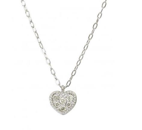 GLADD Pt900 天然钻石铂金项链