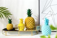 时光巴士 菠萝造型创意摆件 小号