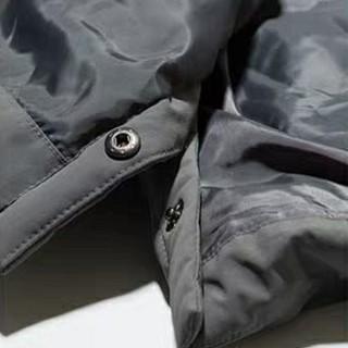 ASICS 亚瑟士 2031A417-001 男式长款羽绒服 灰色 M