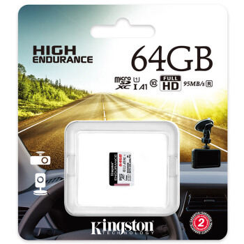 Kingston 金士顿 SDCE TF(MicroSD)存储卡 (64GB、30MB/秒)