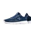 XTEP 特步 男鞋运动鞋新款舒适跑步鞋男鞋子休闲鞋男网面透气综训鞋  881219529521 兰 42码