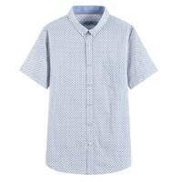 雅鹿 ADC2CE033SfWI0 男士短袖衬衫