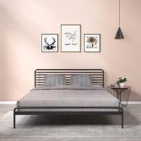 Zinus 际诺思 横条纹铁艺床 1.8m床
