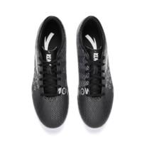 ANTA 安踏 成人短钉足球训练鞋 91822202-1 黑色 男 41