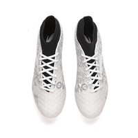 ANTA 安踏 91822200 男鞋足球鞋FG大底专业足钉运动鞋 白色 男41