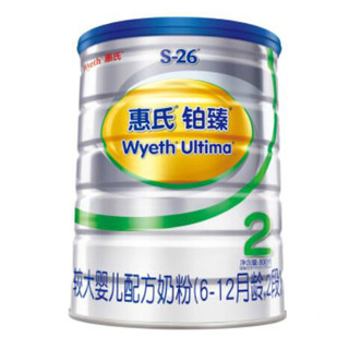 Wyeth 惠氏 S-26铂臻 幼儿配方奶粉