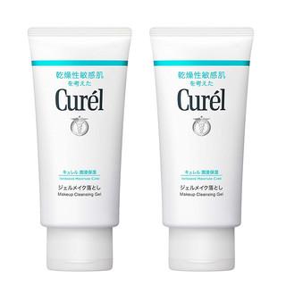 Curel 珂润 温和保湿卸妆啫喱 130g *2支