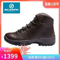 SCARPA/思卡帕Terra男女牛皮GTX防滑登山徒步鞋30001-200