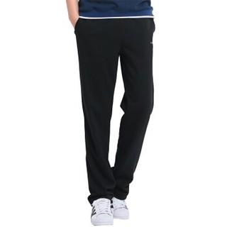 POLAR FIRE 极地火 纯色弹力 男款休闲跑步裤 运动健身 黑色 M JDYDKJD303