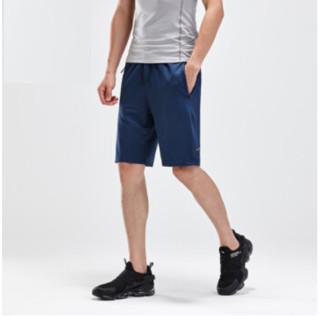ANTA 安踏 综合系列 短裤男运动裤 夏季新款针织运动短裤男 95927780 天幕蓝-3 S(男165)