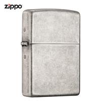 ZIPPO 之宝 121FB 仿古银 煤油打火机 *2件