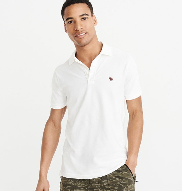 Abercrombie&Fitch 209386 男款短袖polo衫