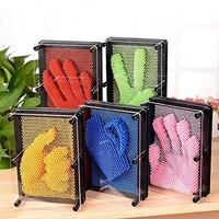 葡萄与提子 塑料方形手印3D克隆手模百变针画