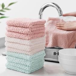 家务清洁抹布洗碗布混色3条装