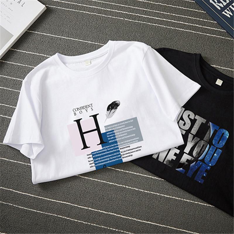 QAWETI BC1701-Q1901 男士100%纯棉T恤