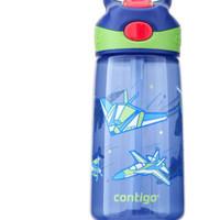 Contigo 康迪克 儿童吸管杯 飞机总动员 450ml