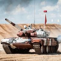 俄罗斯军事游套餐 坦克体验、AK47、手榴弹、坦克炮