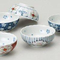 西海陶器 餐具套装(小碗) 染锦绘变 30364