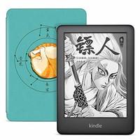 全新Kindle青春版 黑色 + NuPro轻薄保护套套装,大橘为重