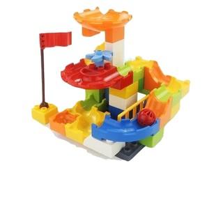 惠美 滑道积木玩具 38颗粒百变滑道