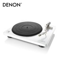 天龙(DENON)DP-400 音响 音箱 家庭影院 Hi-Fi 高音质黑胶播放机 白色