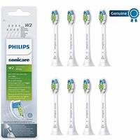 PHILIPS 飞利浦 Sonicare W Optimal HX6068/12 蓝牙刷头 8个装 白色