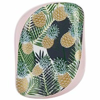 TANGLE TEEZER 专业解结美发梳子 便携款 菠萝花纹 *4件