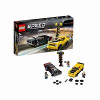1日0点、考拉海购黑卡会员:LEGO 乐高 超级赛车系列 75893 2018道奇挑战者SRT和1970道奇战马RT赛车