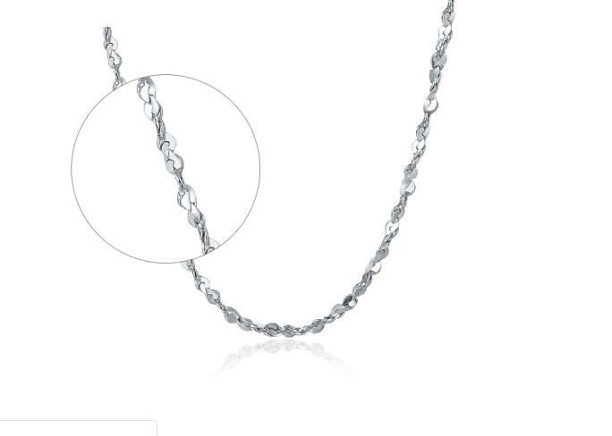 ZLF 周六福 PT050890 铂金项链 2.04g 42cm