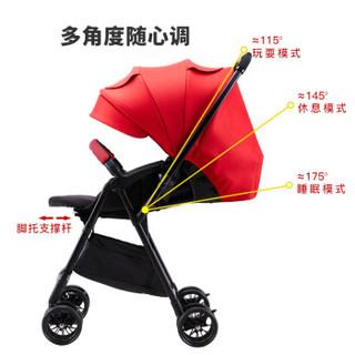 kiwy 轻喔icon 高景观轻便婴儿推车