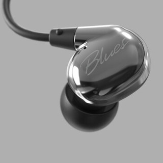 TANCHJIM 天使吉米 Blues 耳机 (亮银灰、动圈、入耳式)