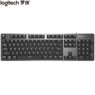 Logitech 罗技 K845 机械键盘 单光 TTC轴 青轴 黑色
