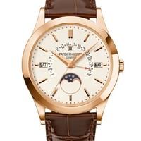 Patek Philippe 百达翡丽 超级复杂功能时计系列 5496R-001 玫瑰金万年历腕表