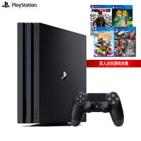 SONY 索尼 PS4 Pro(PS4)游戏机 国行 赠2K19、雷曼、小小大星球、三国无双