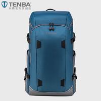 TENBA 天霸 636-412 摄影微单单反双肩相机包 速特 (蓝色、24L)