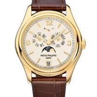 Patek Philippe 百达翡丽 复杂功能时计系列 5146J-001 黄金月相腕表