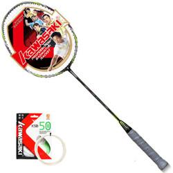 KAWASAKI/川崎 5U三星拍6820 全碳素羽毛球单拍  *2件