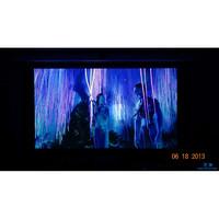 影辉 FO 4K高清电动拉线幕电动遥控1080P家用投影幕 (16:9、120英寸)