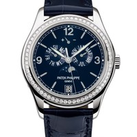 Patek Philippe 百达翡丽 复杂功能时计系列 5147G-001 月相镶钻腕表