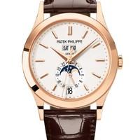 Patek Philippe 百达翡丽 复杂功能时计系列 5396R-011 玫瑰金款式银色表盘腕表