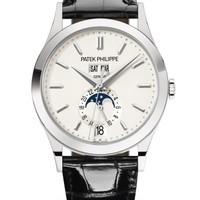 Patek Philippe 百达翡丽 复杂功能时计系列 5396G-011 白金款式银色表盘腕表