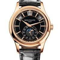 Patek Philippe 百达翡丽 复杂功能时计系列 5205R-010 自动上弦黑色表盘腕表