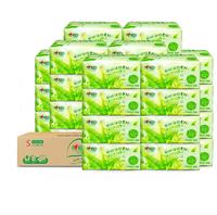 心相印抽纸茶语纸巾3层120抽30包家用面巾纸卫生餐巾纸整箱实惠装 *4件